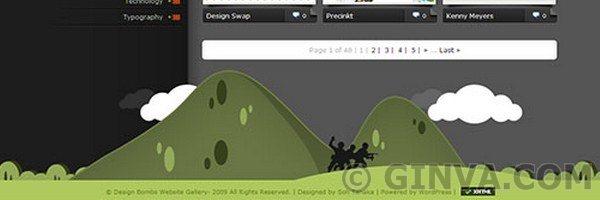 Creative Web Footer Design Showcase