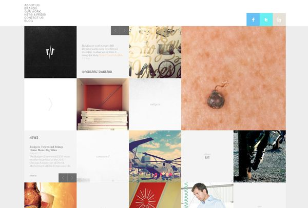 Inspiring Grid Based Web Design