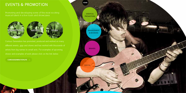 Collection of Parallax Scrolling Websites