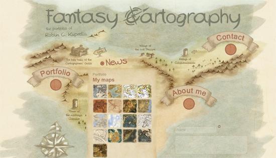 Collection of Interesting Navigation Menus