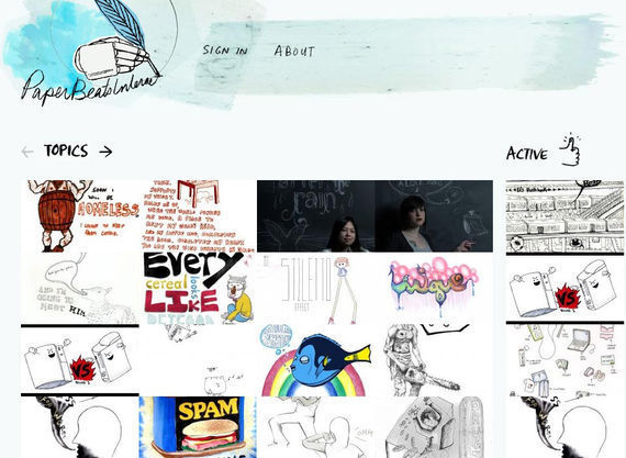 Collection of Hand Drawn Websites for Your Inspiration